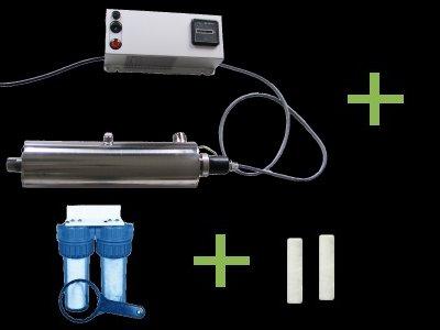 reserveo st rilisateur uv pour eau de pluie eau de puits. Black Bedroom Furniture Sets. Home Design Ideas